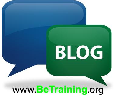 BE TRAINING vs BLOG = INTERNET MARKETING