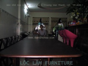 bàn ghế xếp