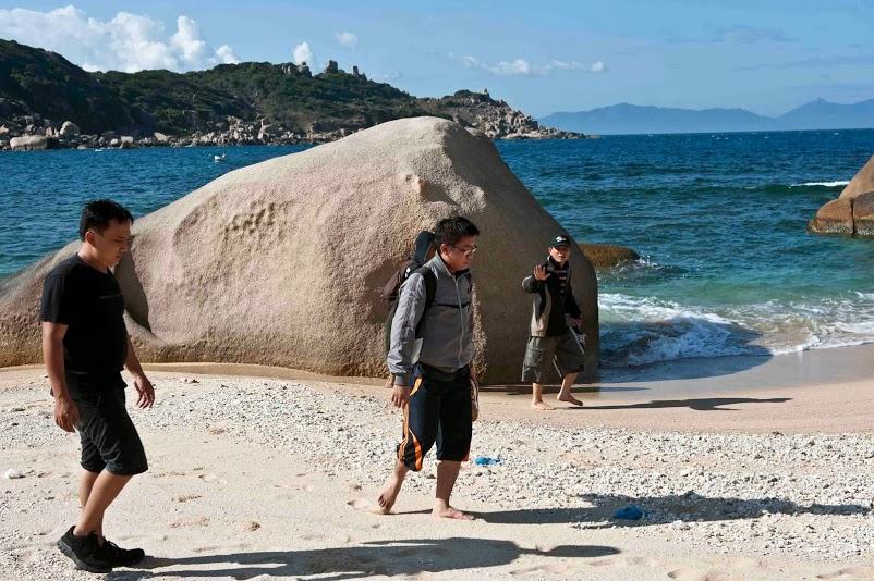 bãi cát vịnh vân phong