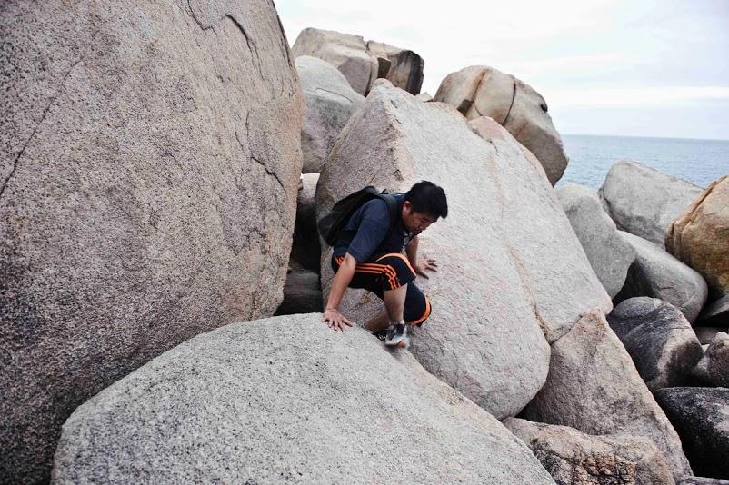 trèo leo trên đá