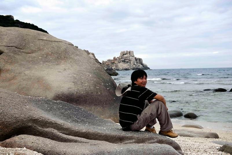đá và biển