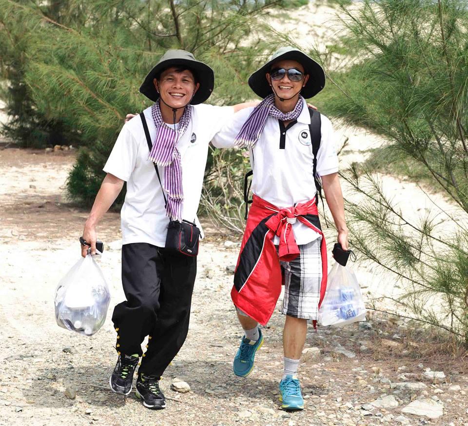 cung đường đi bộ trên núi Vân Phong