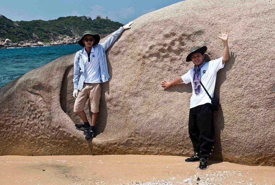 biển và đá vịnh vân phong