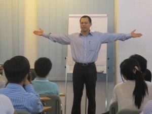 """Lớp """"Học làm chủ"""" tại Trường Học Làm Chủ Be Training."""