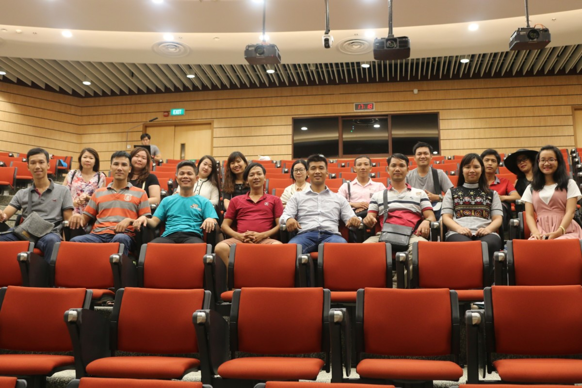 trải nghiệm tại singapore